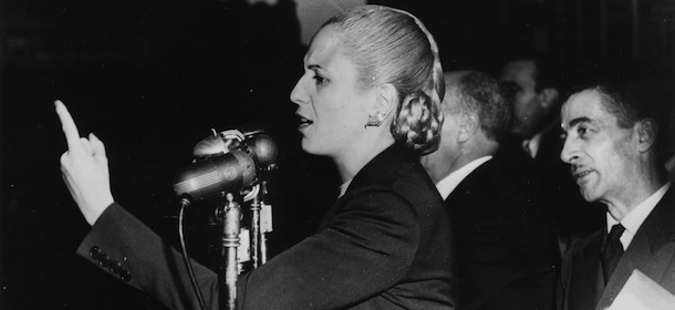 women quotes - Eva Peron